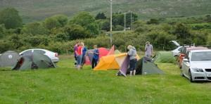 Camping at Bloody Bridge