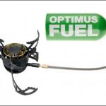 The Optimus Nova Plus connected to a fuel bottle.
