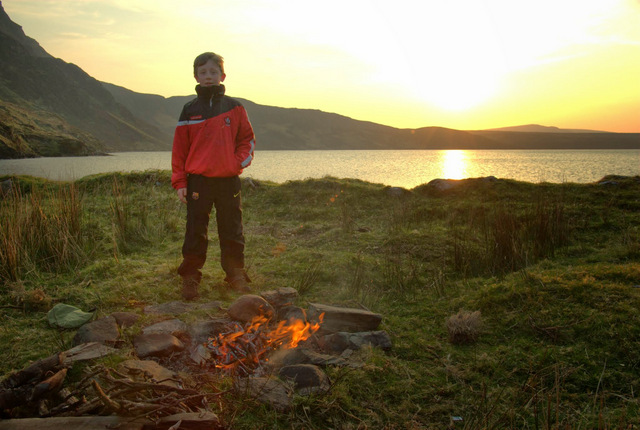 Loch Altan, Donegal - Wild camping at its finest ...