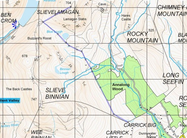 slieve_lamagan_route