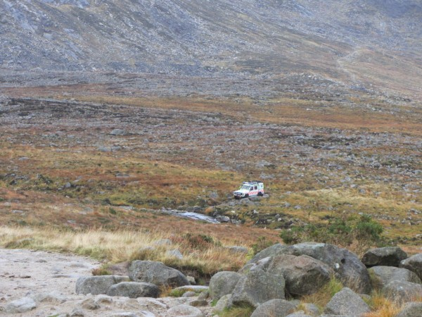 A broken ankle had the Mourne Mountain Rescue Team out.