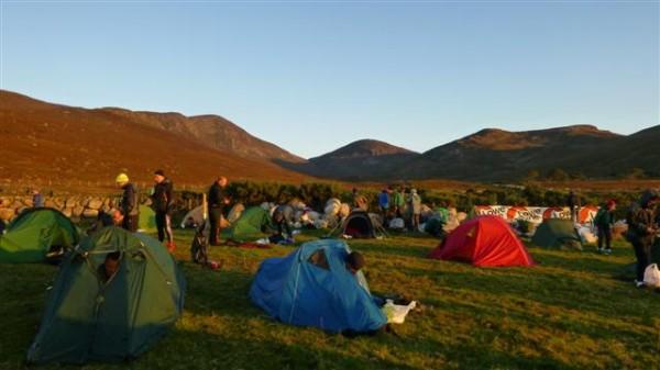 what a campsite