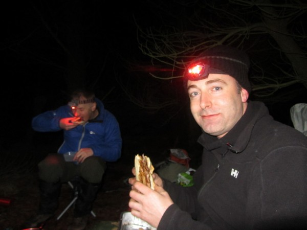Food always tastes better outdoors.