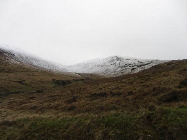 I could see snow in the distance but couldn't gauge if it was deep enough for some fun,
